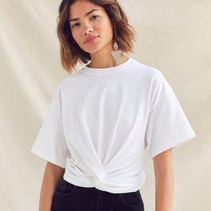 Urban Renewal Front-Twist Tee Shirt